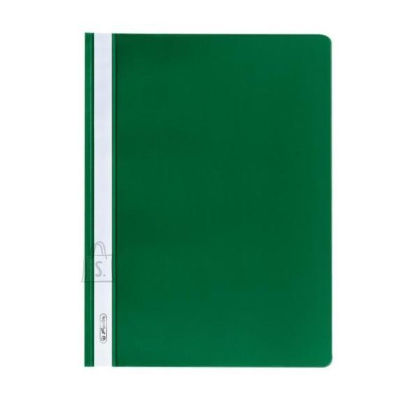 Herlitz Kiirköitja õhuke a4 roheline, 10 tükki pakis