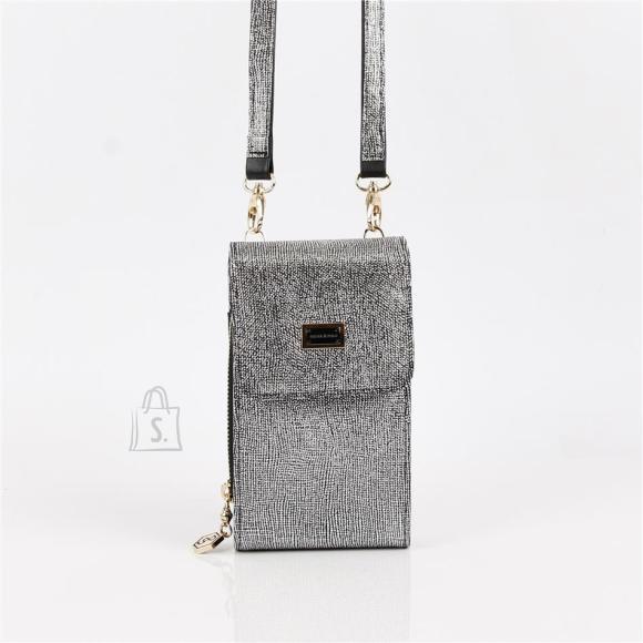 Silver & Polo Naiste õlakott telefonile Silver&Polo 889, hõbedane