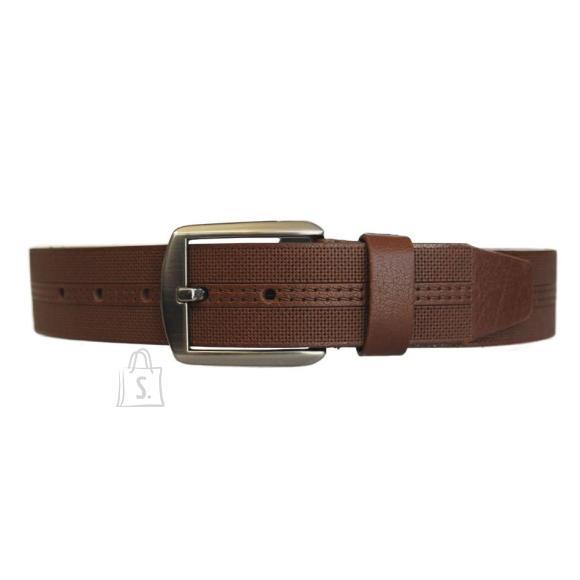 Bradley Nahast püksirihm Premium pruun 3,5 x 115 cm