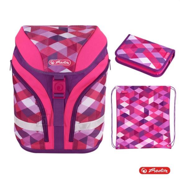 Herlitz Ranits MOTION PLUS - Pink Cubes