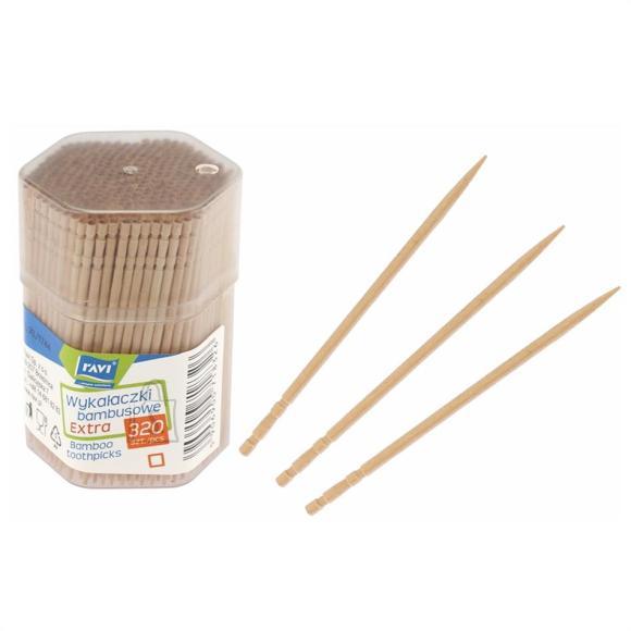 Hambatikud 320tk/6.5cm RAVI bambusest