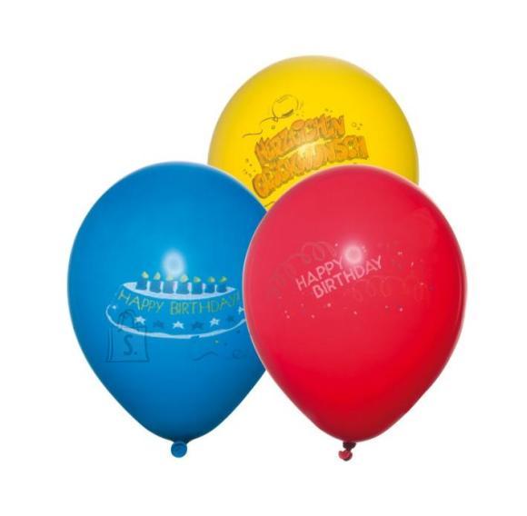 SusyCard õhupall 6tk Õnnesoov ü.100cm