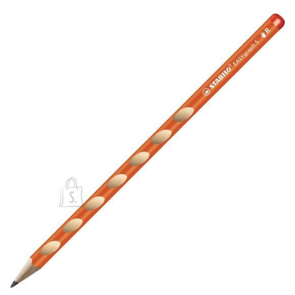 Stabilo Harilik pliiats Easy graph S parem oranž