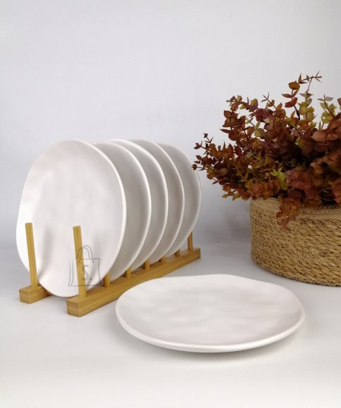 Bradley Keraamilised desserditaldrikud ORGANIC 20cm valge 12tk