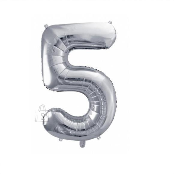 Fooliumist numbri õhupall nr.5 35cm