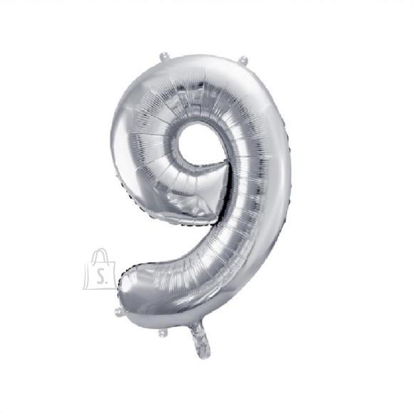 PartyDeco Suur numbri õhupall nr.9 86cm