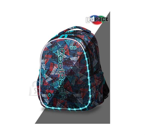 Seljakott COOLPACK - JOY L - LED TRIANGLES