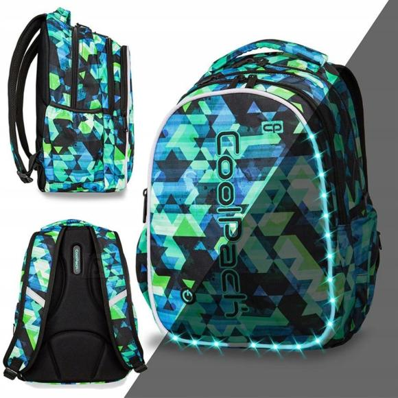 Seljakott COOLPACK - JOY L - LED KALEIDOSCOPE