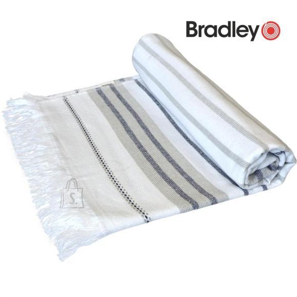 Bradley Rannalina 70x140 sile/frotee triibuline beež