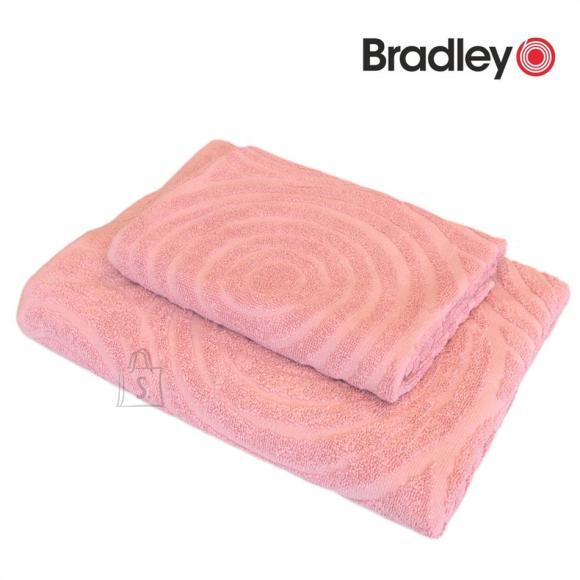 Bradley Froteerätik 70x140cm ringid roosa