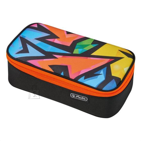 Herlitz Pinal Beat Box Neon Art, kaanega