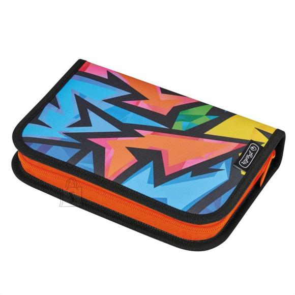 Herlitz Pinal nelinurkne 2 klapiga - Two flaps - Neon Art