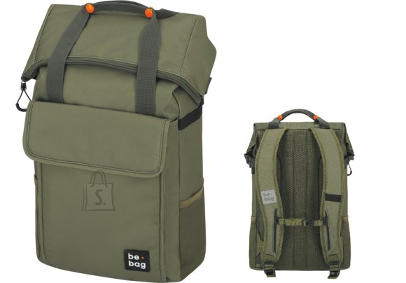 Herlitz Koolikott-seljakott be.bag 25-30L be.flexible olive