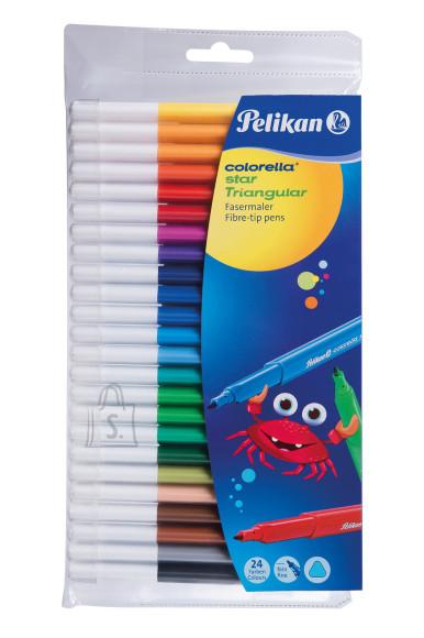 Pelikan Viltpliiats 24 värvi  Pelikan kolmn.