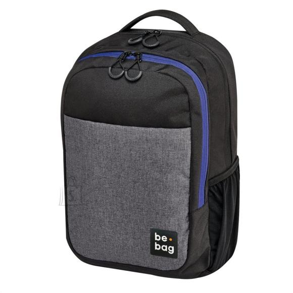 Herlitz Koolikott-seljakott be.bag Be Clever - hall/must/sinine, 18 l