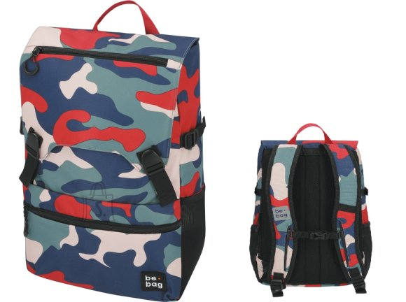 Herlitz Koolikott-seljakott be.bag 25L be smart camo