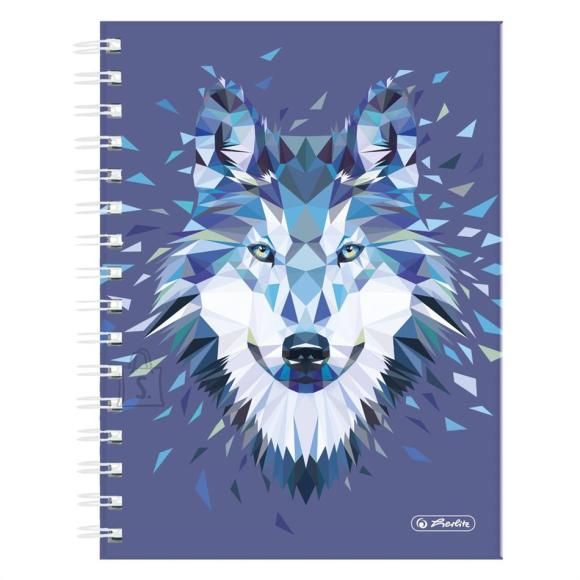 Herlitz Spiraalmärkmik Wild Animals / Hunt - A5/100, ruuduline