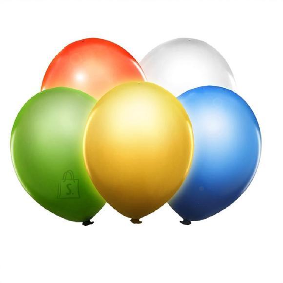 PartyDeco Õhupallid LED-lampidega, 5 tk assortii