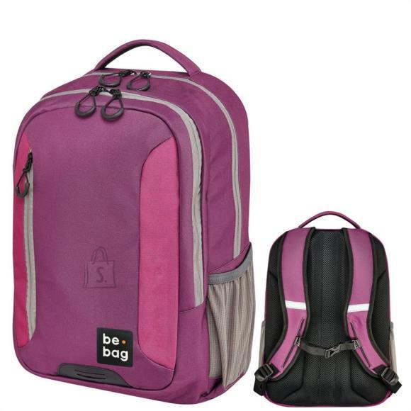 Herlitz Koolikott-seljakott be.bag Be Adventurer - lilla/roosa/beež, 18 l