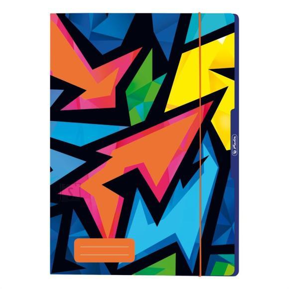 Herlitz Kummiga kaaned Neon Art, A4