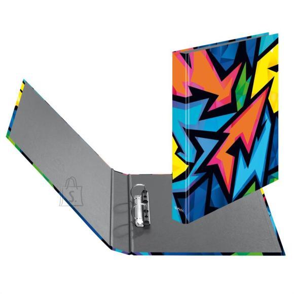 Herlitz Rõngaskaaned Herlitz Neon Art - 2 rõngast, A4, 25mm