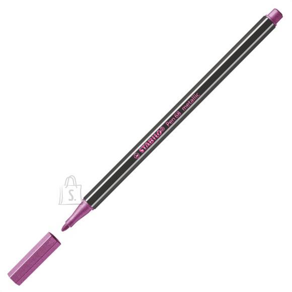 Stabilo Tindipliiats Pen 68-856, roosa metallik