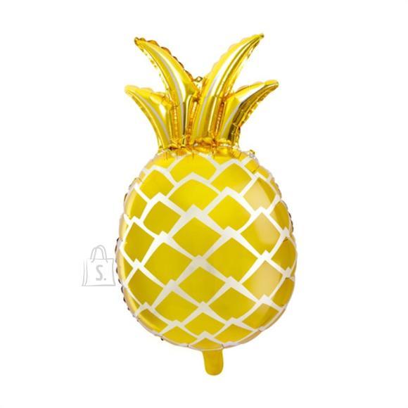 "Fooliumist õhupall ""Ananass"" - 38 x 63 cm, kuldne"