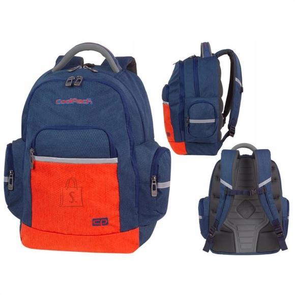 CoolPack koolikott-seljakott Brick / Color Fusion, sinine