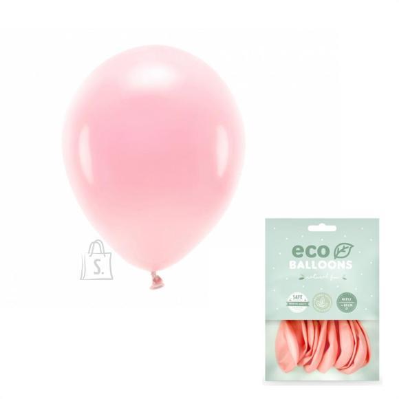 PartyDeco õhupall, 10 tk, 30 cm, pastellroosa / Öko