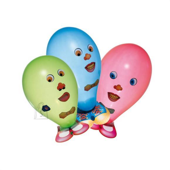 SusyCard õhupall, 6 tk / Naljakad näod