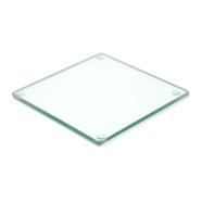 Klaasist alus Clear 12x12cm