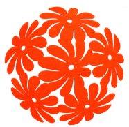 Lauamatt Fenny oranž