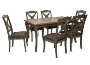 Söögitoakomplekt Ludvig laud + 6 tooli