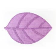 Lauamatt Leaf 45 x 30 cm lilla