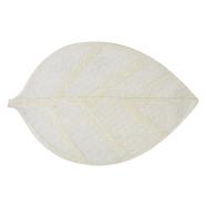 Lauamatt Leaf 45 x 30 cm beež