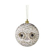 Jõuluehe Owl Ø8 cm