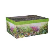 Pappkarp Glitter House -1 37x29xH16,5