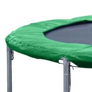 Batuudi turvaäär 426 cm batuudile roheline