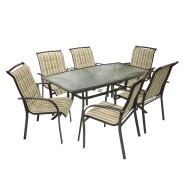 Aiamööbeli komplekt Ottawa laud + 6 tooli