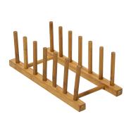 Taldrikuhoidja 6-vahega, bambus
