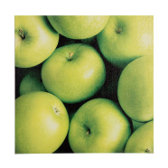 Dekoratiivpilt rohelised õunad