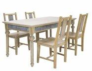 Söögilauakomplekt Ornament 4-tooliga