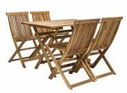 Aiamööblikomplekt Finlay laud ja 4 tooli