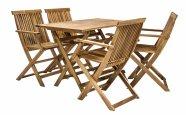Mööblikomplekt Finlay laud ja 4 tooli