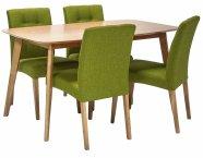 Söögilauakomplekt Enrich laud ja 4-tooli