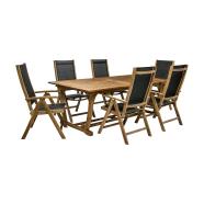 Aiamööblikomplekt Future laud ja 8 tooli