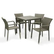 Aiamööblikomplekt Orense laud ja 4 tooli