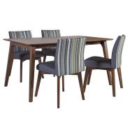 Söögilauakomplekt Loto  laud ja 4-tooli
