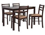 Söögilauakomplekt Vincent laud ja 4-tooli