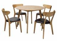 Söögilauakomplekt Leon 4-tooliga